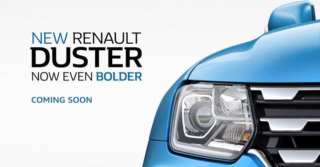 Renault Duster Face Lift Teaser