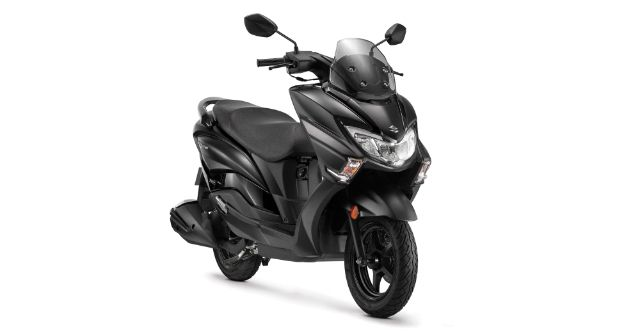 Suzuki Burgman Street Matte Black Colour Launched India