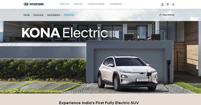 Hyundai Kona Electric listed on HMIL website