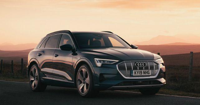 Audi E Tron Electric Vehicle India Bound M