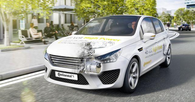 Continental 48 Volt High Power Hybrid Technology