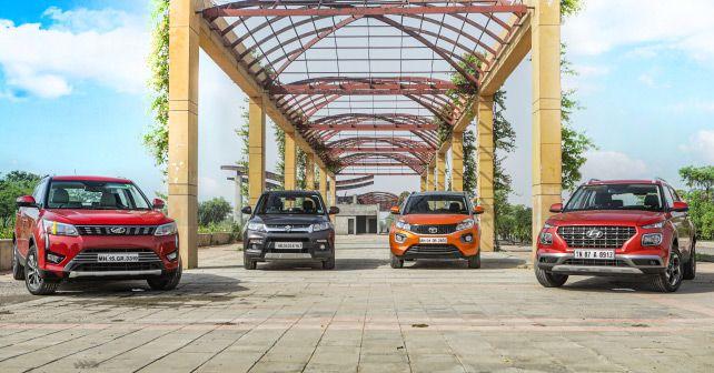Hyundai Venue Vs Mahindra Xuv3 Vs Tata Nexon Vs Maruti Suzuki Vitara Brezza