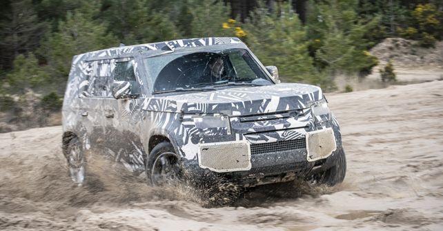 2020 Land Rover Defender Prototype Testing