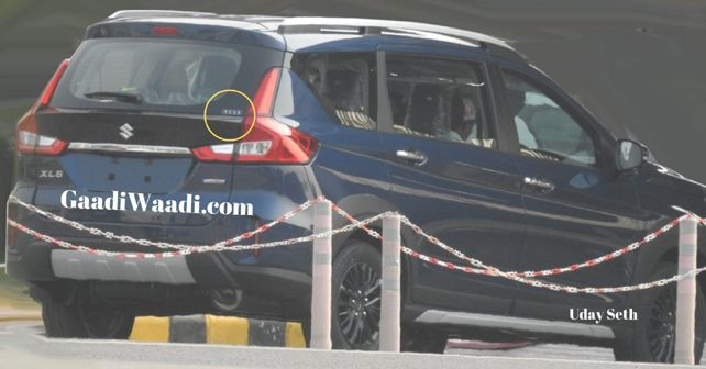 Maruti Suzuki XL6 Spy Shot