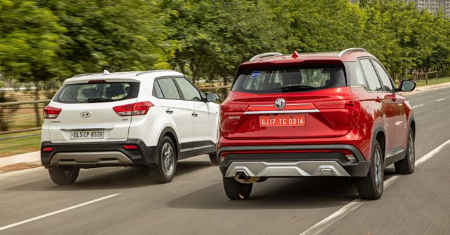 Mg Hector Vs Hyundai Creta Comparison Feature