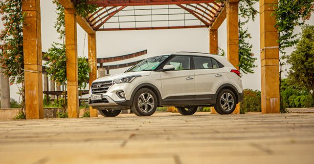 New Hyundai Creta Front Three Quarter