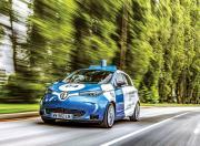 Renault Zoe Autonomous Prototype Front Three Quarter