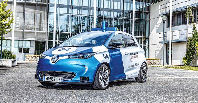 Renault Zoe Autonomous Prototype