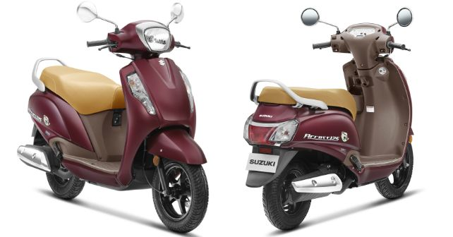 Suzukli Access 125 Se Special Edition Launched India