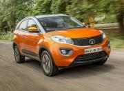 tata nexon front three quarter dynamic