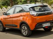 tata nexon rear three quarter