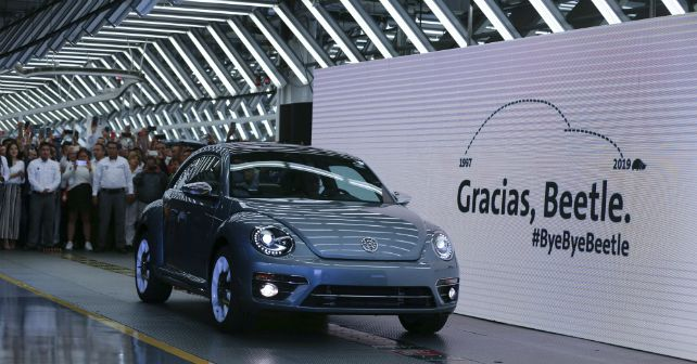 Volkswagen Beetle Last Unit Produced Mexico