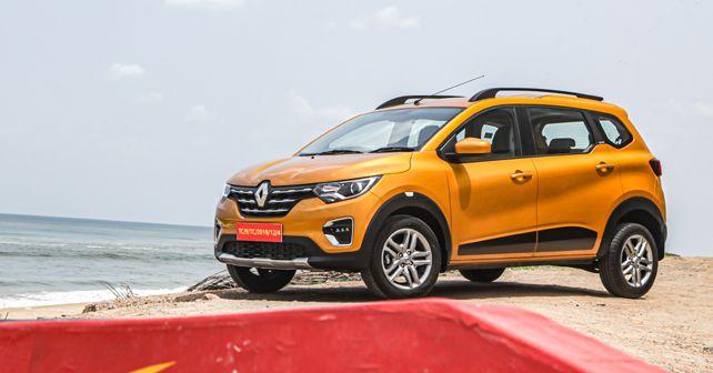 Renault Triber Front Quarter