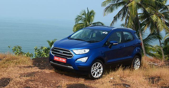 2017 Ford Ecosport Facelift Review Static
