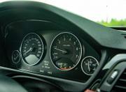 2018 BMW 3 Series instrument cluster