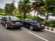 2019 BMW 3 Series vs 2018 BMW 3 Series rear1