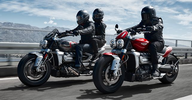 2019 Triumph Rocket 3 R And GT Unveiled