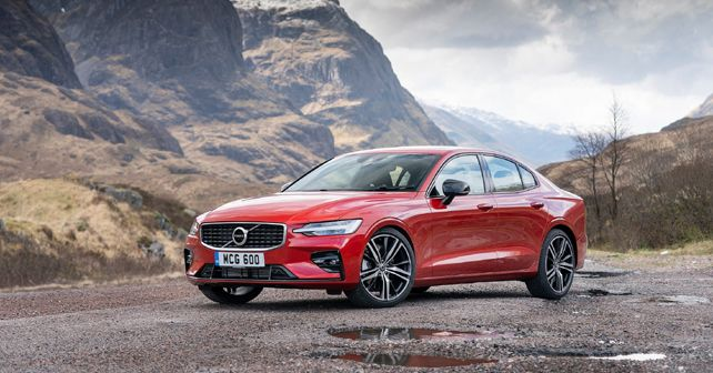 New Volvo S60 front quarter