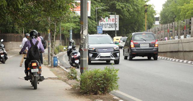 Traffic violations in Delhi NCR