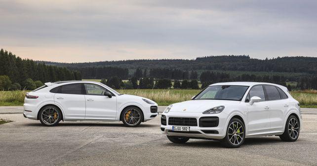 2019 Porsche Cayenne & Cayenne Coupe Turbo S E-Hybrid models