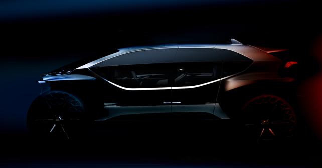 2019 Audi AI:Trail Quattro Concept Teaser IAA 2019