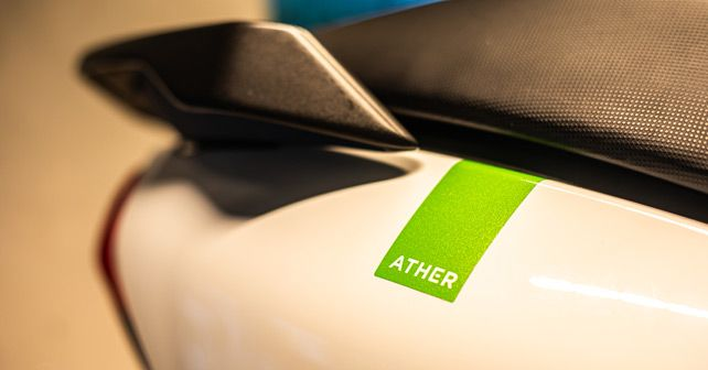 Ather 450 Green Logo