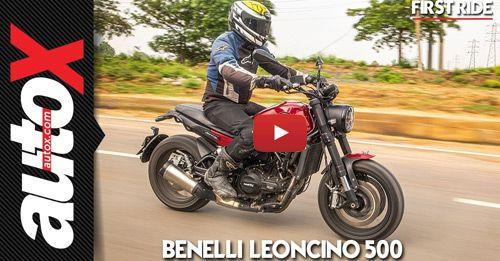 Benelli Leoncino 500 Side Profile