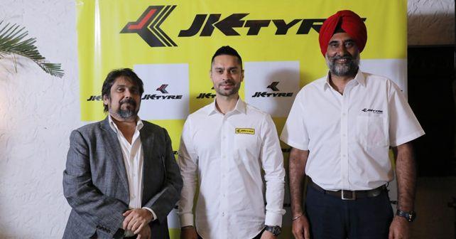 Gaurav Gill joins JK Tyre's Rally Squad