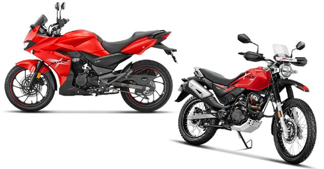 Hero Motocorp Xtreme 200 S and XPulse 200
