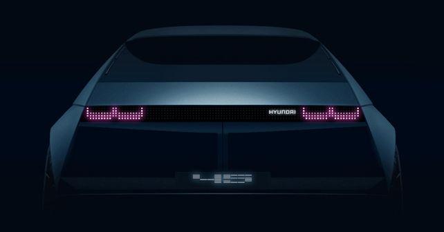 2019 Hyundai 45 EV Concept Teaser