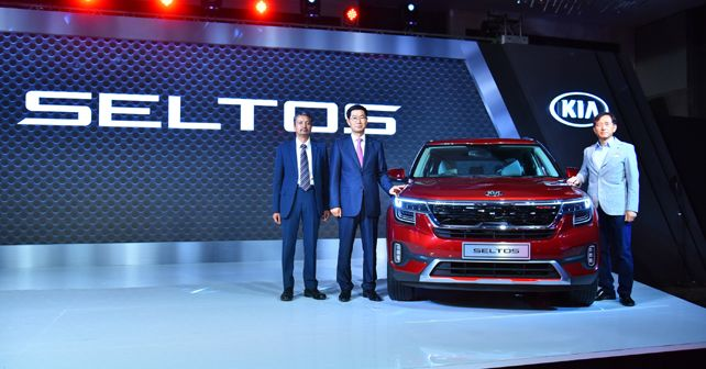 Kia Motors India Launches The First Product For Indian Market The Kia Seltos