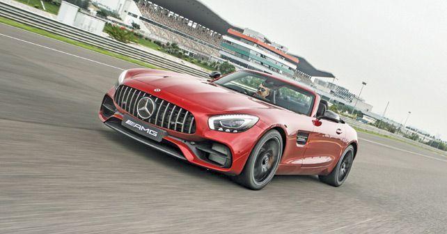 Mercedes AMG GT Roadster Motion