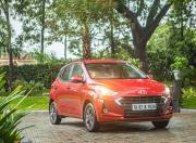 New Hyundai Grandi10 Nios front three quarters1