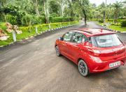 New Hyundai Grandi10 Nios rear three quarter1