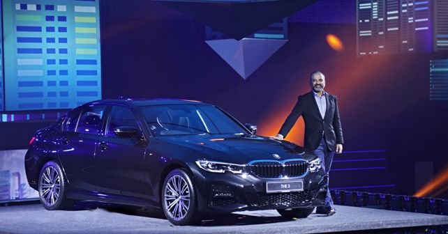 Mr Rudratej Singh with the new BMW 3-Series