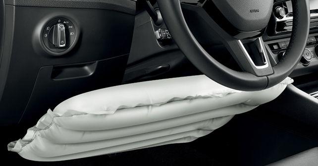 Knee airbag Skoda
