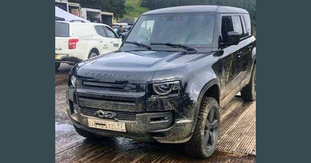 2020 Land Rover Defender caught