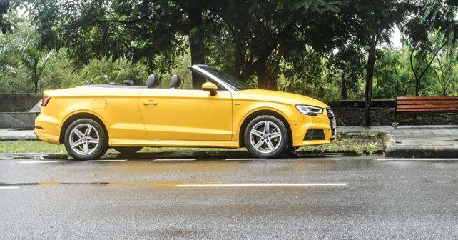 Audi A3 Cabriolet Side Profile