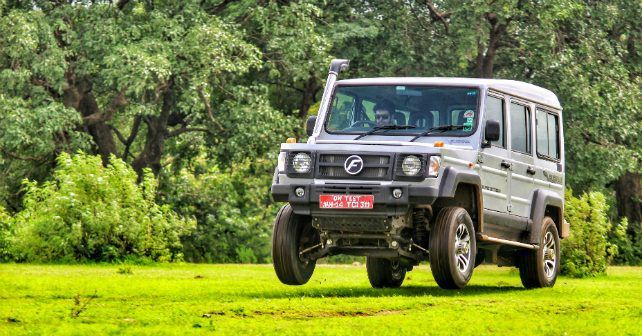 Force Motors Gurkha Jump