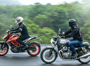 royal enfield interceptor 650 comparison