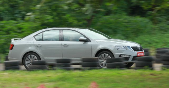 Skoda Octavia Rs First Impressions Action