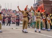 wagah border parade celebrations