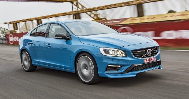2017 Volvo S60 Polestar Front Three Quarter Action