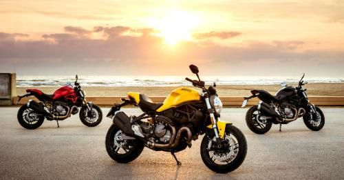 2018 Ducati Monster 821 All
