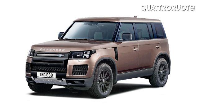 2020 Land Rover Defender Side Profile