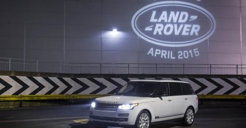 6000000TH LAND ROVER LIGHTS UP SOLIHULL