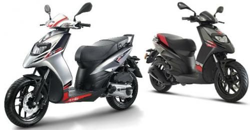 Aprilia SR 125 Bookings M