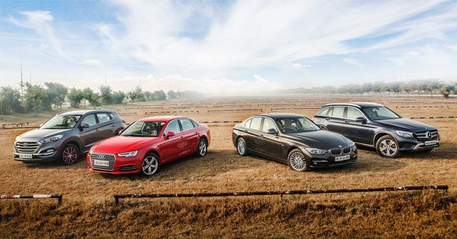 Audi A4 Vs BMW 3 Series Vs Mercedes Benz GLC Vs Hyundai Tucson