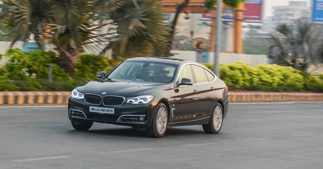 BMW 3GT Petrol Front Three Quarter