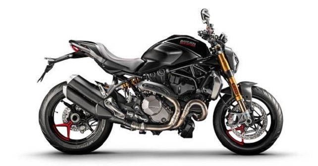 Ducati Monster 1200S Black On Black